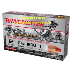 Winchester Slug Deer Season lead free - 12/70 - (x5)