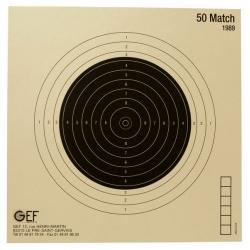 cible-carabine 50 m -armurerie-steflo