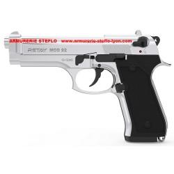 Retay Mod.92 - 9mm PAK - nickelé