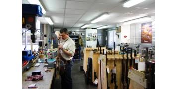 L'atelier Steflo est dédié à vos armes