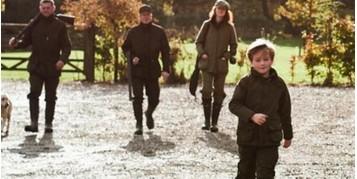 Nouveau: Vêtements chasse enfant